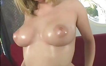All horny light haired nympho goes solo and enjoys amateur unvarnished show