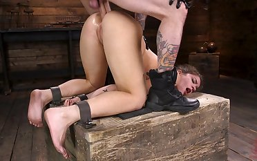 Ultimate BDSM anal porn video featuring submissive girl Victoria Voxxx