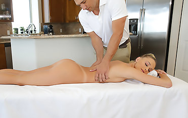 Emma Hix gets a kneading increased by cock