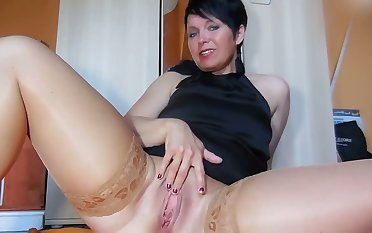 This dame has perfect along to stratagems be proper of self pleasuring and I love her big tits