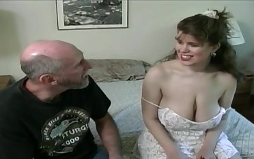 Tessa in the matter of a old fart - big mammaries